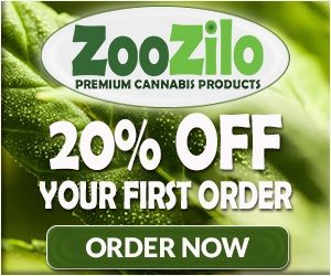 ZooZilo Premium Cannabis Products - 20% OFF Your First Order