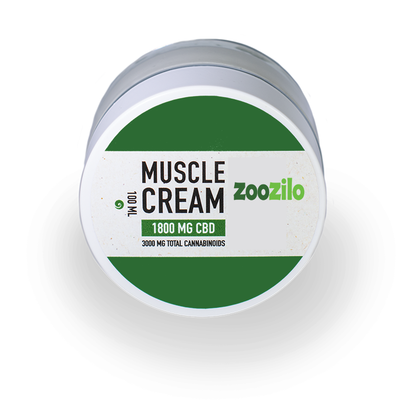 CBD Muscle Cream – Broad Spectrum