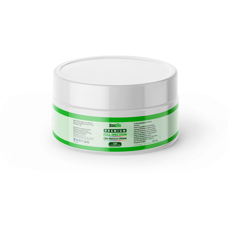 Premium Full Spectrum CBD Muscle Cream